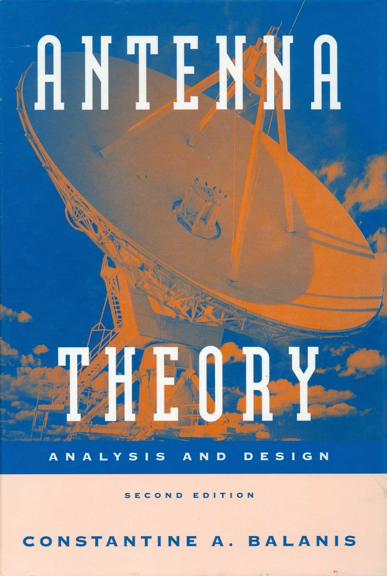 Balanis home publications antenna theory analysis and design 2nd edition john wiley sons 1997 author constantine a balanis fandeluxe Choice Image
